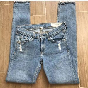 RAG AND BONE Skinny Jeans Size 26